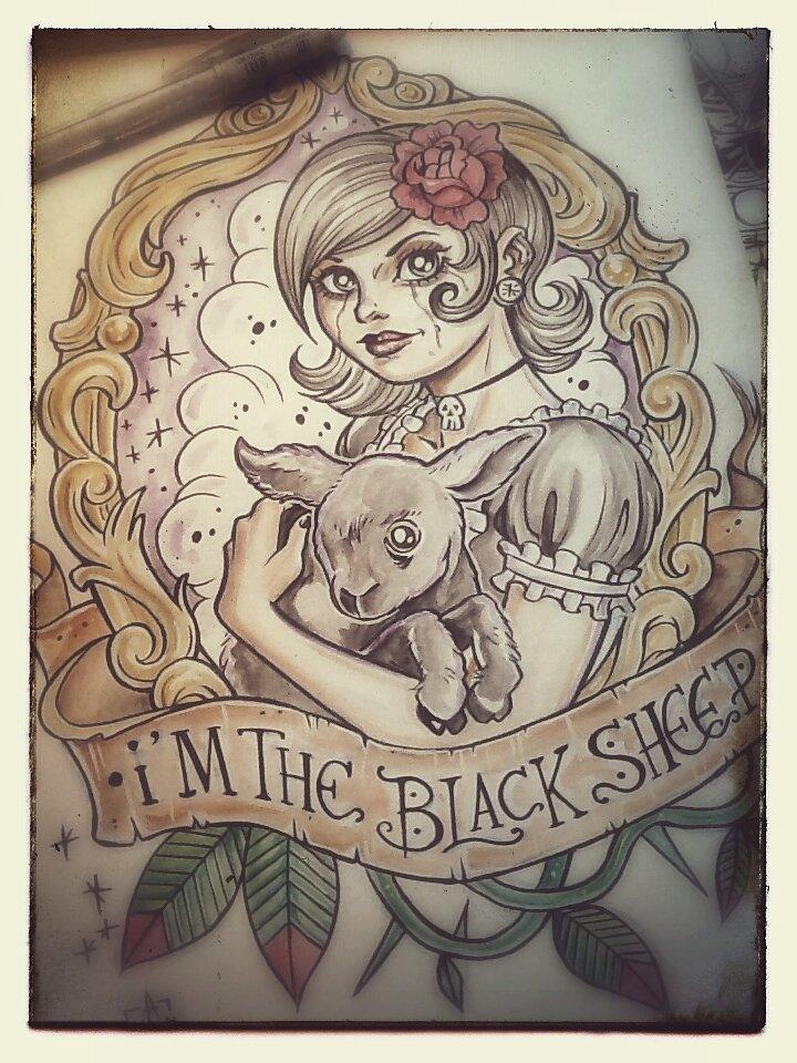 I'm the black lamb