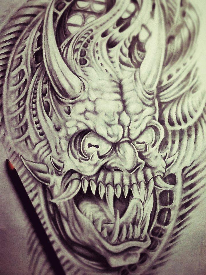 Biomeca Hannya, japanese devil