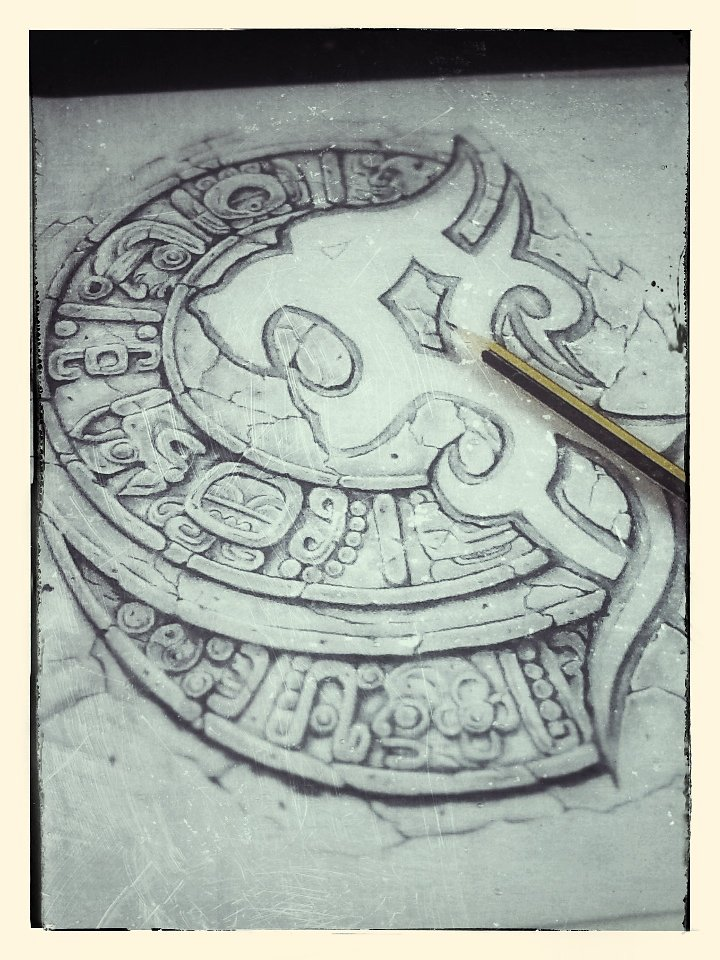 "tattoo design ""maya theme"""